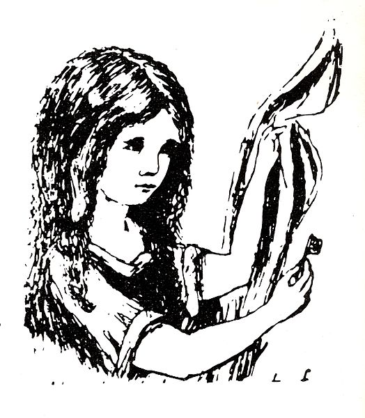 Alice as depicted by Rev. Dodgson