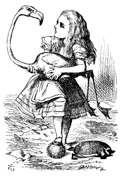 From the original by Tenniel